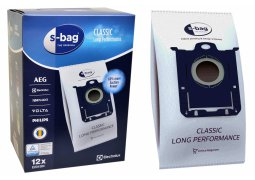 Oryginalne worki E201SM do odkurzacza ELECTROLUX S-BAG Classic Long Performance MEGA PACK - 12 szt.